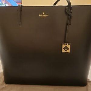 Kate Spade Large Tote Bag - Black